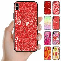 For Apple iPhone Series - Valentine's Love Theme Mobile Phone Back Case Cover