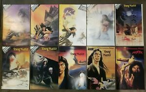 Young Master (1987) #s 1 2 3 4 5 6 7 8 9 plus - Complete set lot of 9, Manga