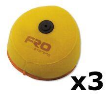 3x Motocross MX Air Filter FRO systems - KAWASAKI KX 85 CC