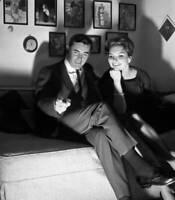 OLD CBS TV RADIO PHOTO Mr Lucky A TV Series John Vivyan & Suzanne Lloyd 1