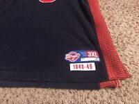 Allen Iverson Philadelphia 76ers Syracuse Nationals Reebok Jersey Size 3XL