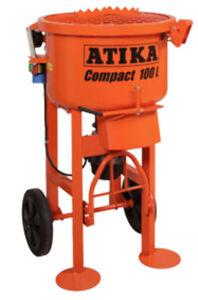 ATIKA Mortar Mixer - 100 Litre - 2.68hp - Pick up only - tilers tiling tools