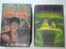 Harry Potter And The Goblet Of Fire # 4 1st American Edition Hardcover Rowling