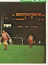 231 MONCHENGLADBACH Vs CRVENA ZVEZDA UEFA CUP STICKER FOOTBALL 1980 BENJAMIN NEW