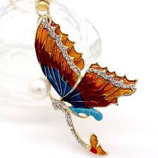 Key chians Purse Bag butterfly Rhinestone Keyrings Keychain charm Pendant Gift #