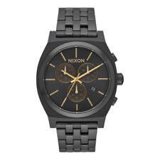 Relojes de pulsera Nixon Chrono de acero inoxidable