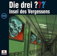 DIE DREI ??? - 186: INSEL DES VERGESSENS  CD NEU