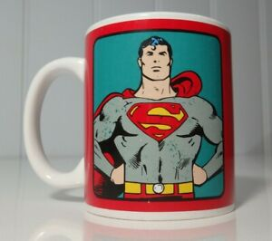 Superman - Coffee Mug Coffee Cup - TM & DC COMICS Preloved