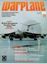 WARPLANE 71 HANDLEY PAGE VICTOR RAF V-FORCE BOMBER TANKER / FALKLANDS ARGENTINES