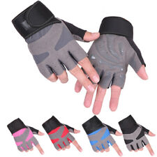 Cycling Gloves Short Half Finger MTB Road Bike Outdoor Sports Anti Slip Gel Pad