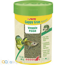 sera Guppy Gran Nature 100mL Fish Food Granules for Guppies