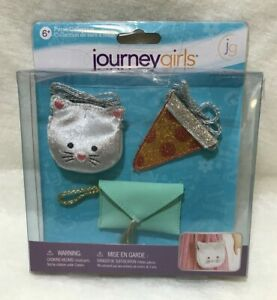 Journey Girls Purse Collection Toys R Us New in Package Kitty Pizza Wrist Purses