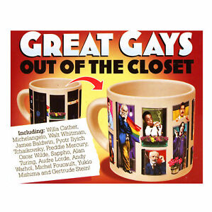 Great Gay - Out Of Il Closet - Termica Calore Change Tazza