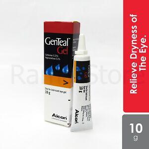5x Novartis Genteal Gel 10g Moisturising Eye Gel With Preservative-Free formula