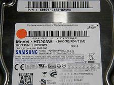 2 TB Samsung EcoGreen HD203WI / 60071-C48A-A24NA / 2010.01  disque dur hard disk