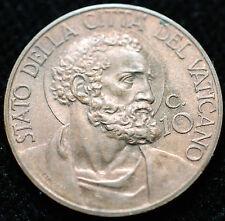 1930  Città del Vaticano  10 centesimi 1930  Rame Rosso FDC