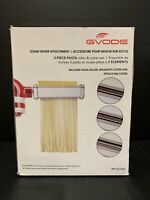 Gvode Kitchen 3-Piece Pasta Roller and Cutter Set for KitchenAid Stand