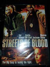 Streets of Blood (DVD, 2009) Val Kilmer, 50 Cent
