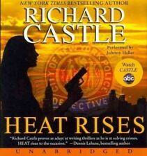 HEAT RISES unabridged audio book CD by RICHARD CASTLE - Brand New 10 CDs 11 Hrs!