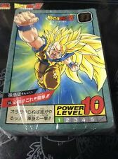 DRAGON BALL Z POWER LEVEL PART 15 FULL 38 REGULAR CARDS SET