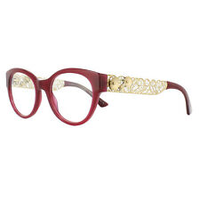Dolce & Gabbana Glasses Frames DG 3184 2681 Burgundy 50mm Womens
