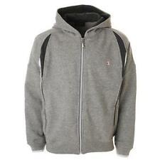 Champion Fleece Full Zip Hoody Sweatshirt Grey 100% Authentic