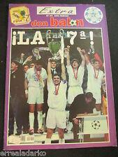 DON BALON EXTRA REAL MADRID CAMPEON CHAMPIONS 1997-98 - LA SEPTIMA / JUVENTUS