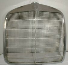 Vintage Mercedes Fintail Chrome Grill W110 W111 Radiator Grille Antique