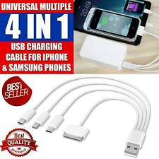 Universal Multi USB Charger Charging Sync Cable for iPhone Android Phones