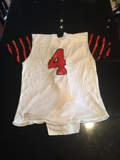 Game Worn Used Princeton Tigers Football Jersey #4 Rawlings Size L
