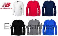 New Balance Mens S-XL 2XL 3XL Long Sleeve T-Shirt TEMPO Running Workout Gym