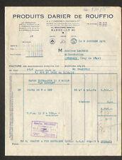 "MARSEILLE (13) SAVONNERIE / SAVONS ""PRODUITS DARIER DE ROUFFIO"" en 1956"