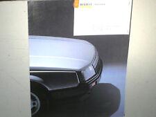 CATALOGUE/PROSPECT.1985 RENAULT 25 TS/TURBO/GTX/V6/TX..