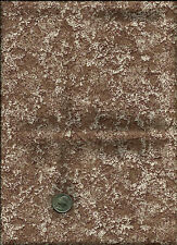 Nice Blotted or Marble Looking Print multi taupe & tan Fabric