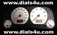 VOLKSWAGEN VW GOLF Mk3 (1991-1999) - 220km/h or 240km/h - WHITE DIAL KIT