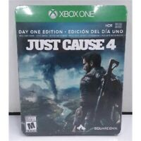 Just Cause 4 Day One Edition Spanish Edition Game for XBox One Steelbook NEW