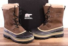 NEW Sorel Men's Winter Caribou Boot 11 MED Brown Waterproof NM1000-238 Boots