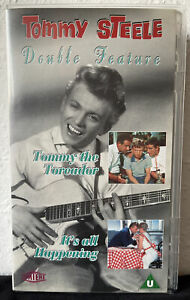 """VHS Tommy Steele Double Feature """"Tommy The Toreador/It's All Happening"""""""