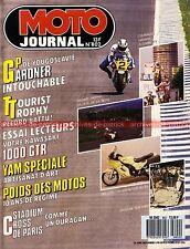 MOTO JOURNAL  802 Essai KAWASAKI 1000 GTR YAMAHA XS 650 Chopper HONDA 250 Helix
