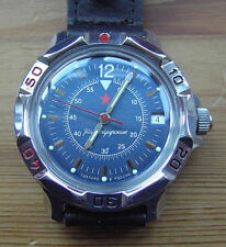 VOSTOK KOMANDIRSKIE Mecánico Reloj. militar. nuevo. vendedor del Reino Unido. entrega rápida