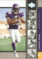 2005 Upper Deck Rookie Premiere Platinum Football Card Pick