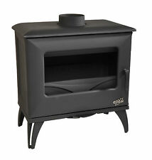 NEW 6.5kw Godin Cube 388117 French Cast Iron Wood Burner Stove With Airwash