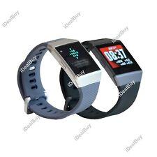 Fitbit iónico Smart Fitness Inalámbrico Bluetooth GPS Rastreador de actividad Tamaño Grande