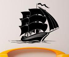 Marine Ship Wall Decal Vinyl Sticker Nautical Pirates Interior Art Decor (5shp)