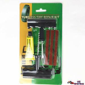 Tubeless Tyre Repair Kit Tire Puncture Emergency Repair Tools Car Motorbike