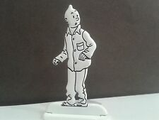 Figurine Métal Tintin pyjama MOULINSART