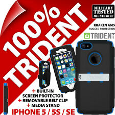 pourTrident Kraken AMS résistant étui rigide robuste apple iphone 5 / 5S / se