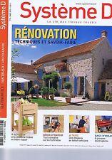 Système D n° 770 Rénovation techniques et savoir-faire - fabriquer un escalier