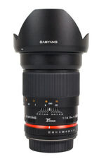 Samyang 35mm f/1.4 UMC AS lens for Sony Alpha FINAL SALE Free shipping!