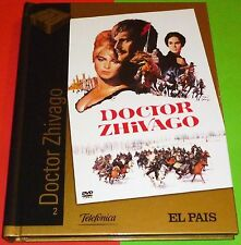 DOCTOR ZHIVAGO David Lean 1965 DVD+LIBRO - NUEVA